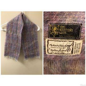 Vintage The Scottish Lion scarf